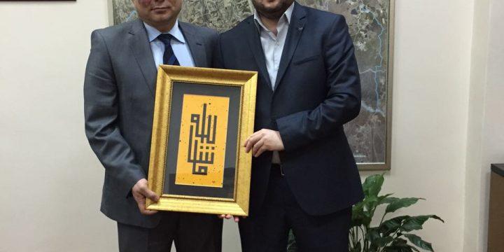 Arnavutköy Belediye Başkan Yardımcısı Yavuz Fırat Beyi Makamında Ziyaret Ettik