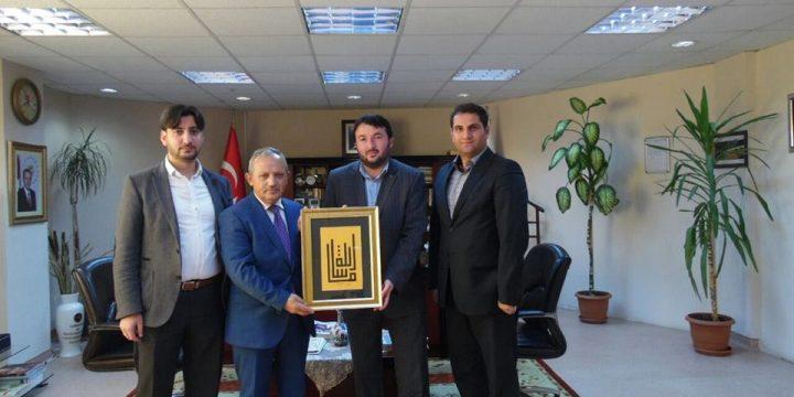 Prof. Dr. Mustafa Aykac'ı Makamında Ziyaret Ettik
