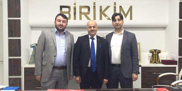 Birikim Koleji Genel Müdürü Yusuf Yalçın ve Genel Müdür Yardımcısı Adem Doğan'ı Ziyaret Ettik