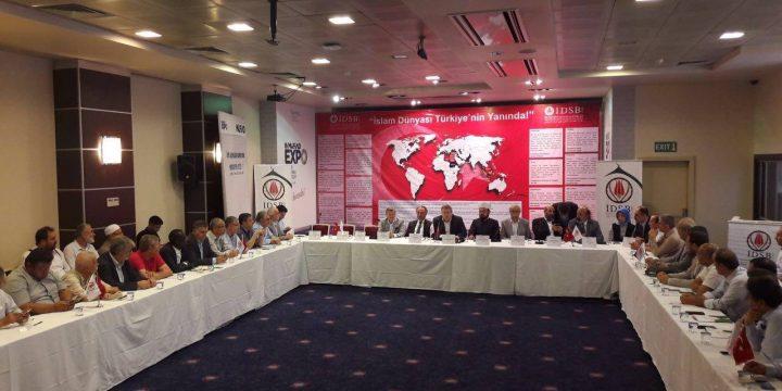 """""""İslam Dünyası Türkiye'nin Yanında"""" Konferansı"""