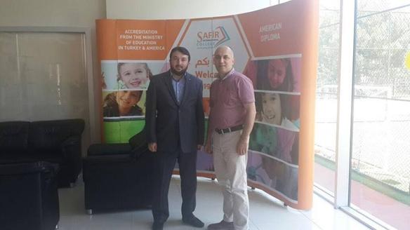 Uluslararası Safir Okulları Genel Müdürü Cemil Keskin Bey'i Ziyaret Ettik