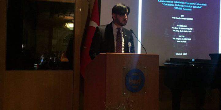 Derneğimiz Marmara Üniversitesinin 134.Kuruluş Yıl Dönümüne Katıldı