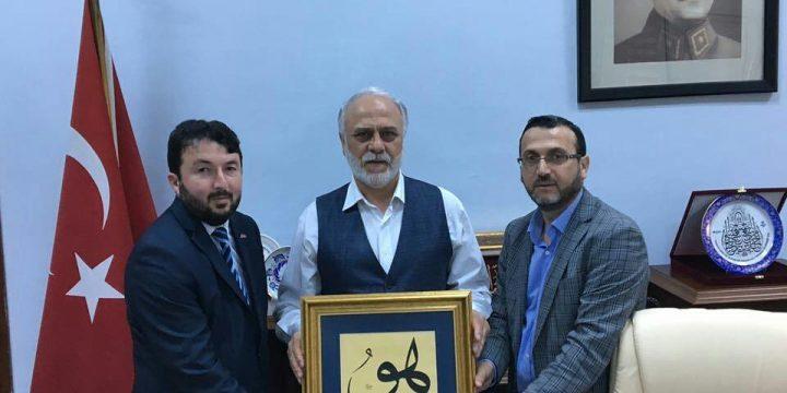 Ahmet Şükrü ÖZDEMİR'e Ziyaret Gerçekleştirdik.