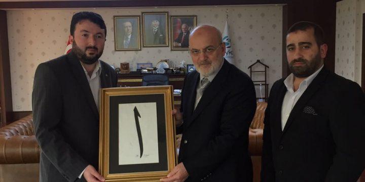 Derneğimiz Beykoz Belediye Başkanı Yücel Çelikbilek'i Makanında Ziyaret Etti