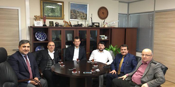 İGDAŞ Müşteri İlişkileri Müdürü Mustafa Yüce Ziyareti