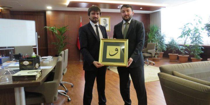 AFAD Başkanı Dr. Mehmet GÜLLÜOĞLU Ziyareti