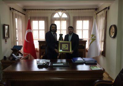 Mehmet Akif İnan Vakfı Ziyaret Edildi