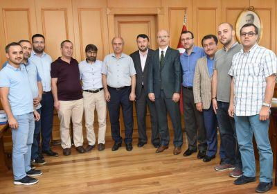Marmara Üniversitesi Rektörü Prof.Dr. Erol ÖZVAR Ziyareti