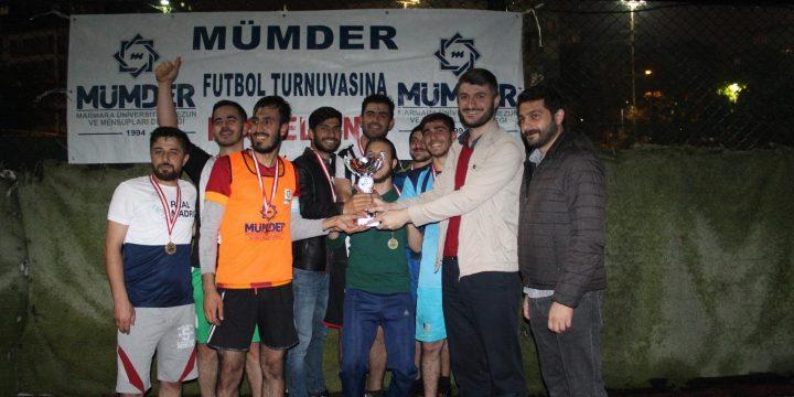 Geleneksel Genç MÜMDER Futbol Turnuvası Şampiyonu Haydarpaşa Spor Oldu