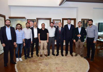 Fatih Belediye Başkanı Hasan SUVER Ziyareti