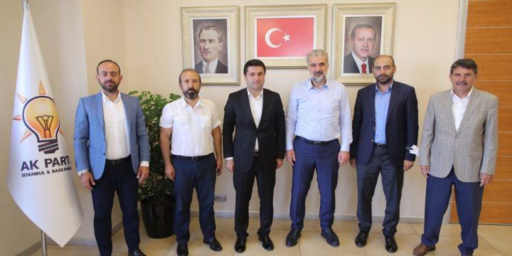 AK Parti İstanbul İl Başkan Yardımcısını Ziyaret