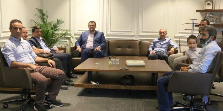 Saadet Partisi İstanbul İl Başkanını Ziyaret