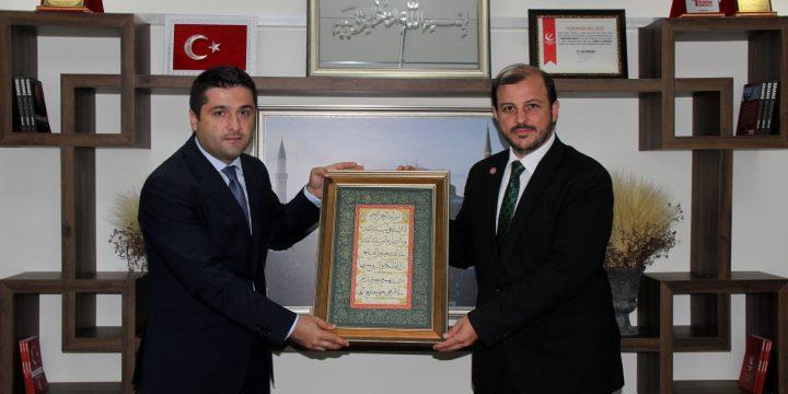 Yeniden Refah Partisi İstanbul İl Başkanını Ziyaret